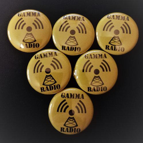 Gamma Radio Badge
