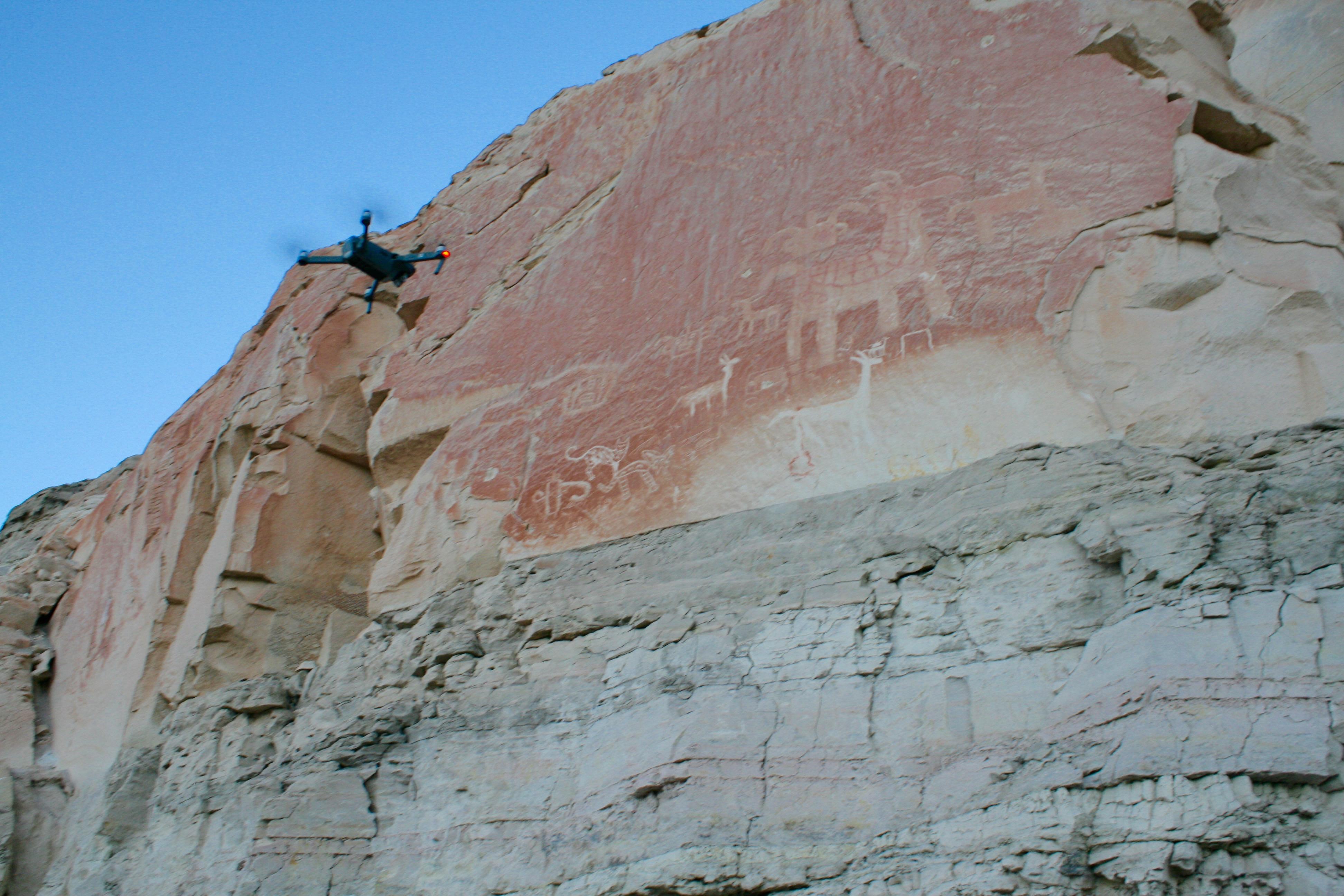 Drone Imaging Rock Art