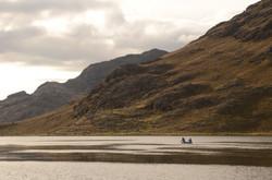Lake Coring at 4000 masl