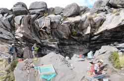 Cuncaicha Rockshelter Excavations