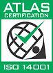 Logo Atlas Certification ISO14001-2015.j
