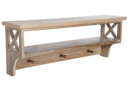 COAT_HANGER+SHELF_CROSS_WOOD_NATURAL_45090_87.99€