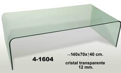 Mesa de centro vidro Ref 41604