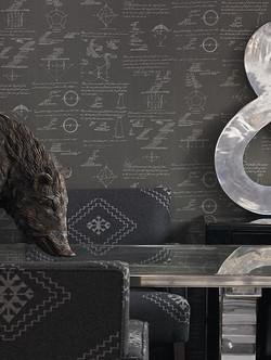 Papel parede Pythagoras 52cmx10mt