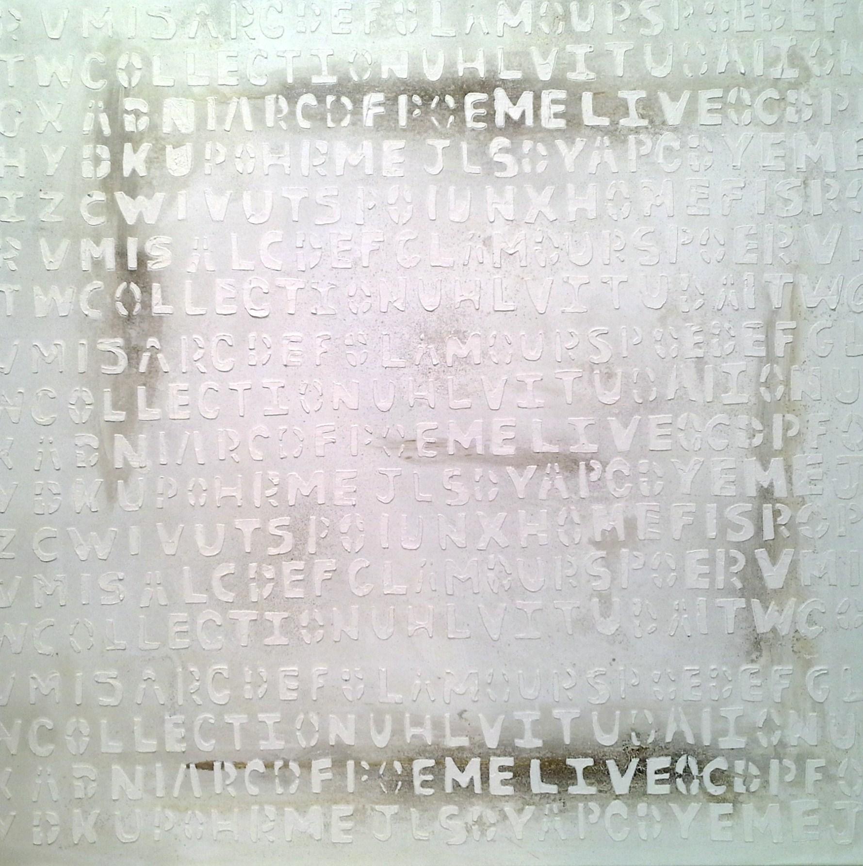 relieve letras 1