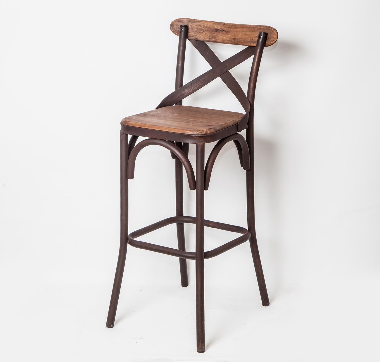 Cadeira bar alta 107x46x45