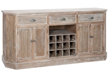 SIDEBOARD_WINE_3_DRAWERS_4_DOORS_WOOD_WHITE_Ref57205_839.99€