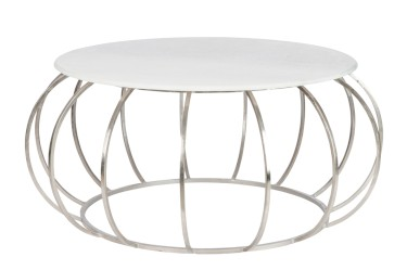 COFFEE_TABLE_ROUND_METAL_MARBLE_SILVER_56295_499€107x107x47