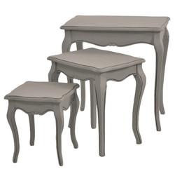 Conjuto mesa grey