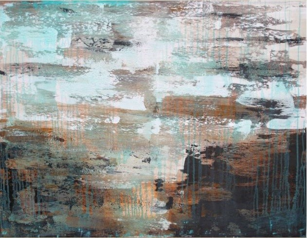 Arrecife azul 130x100