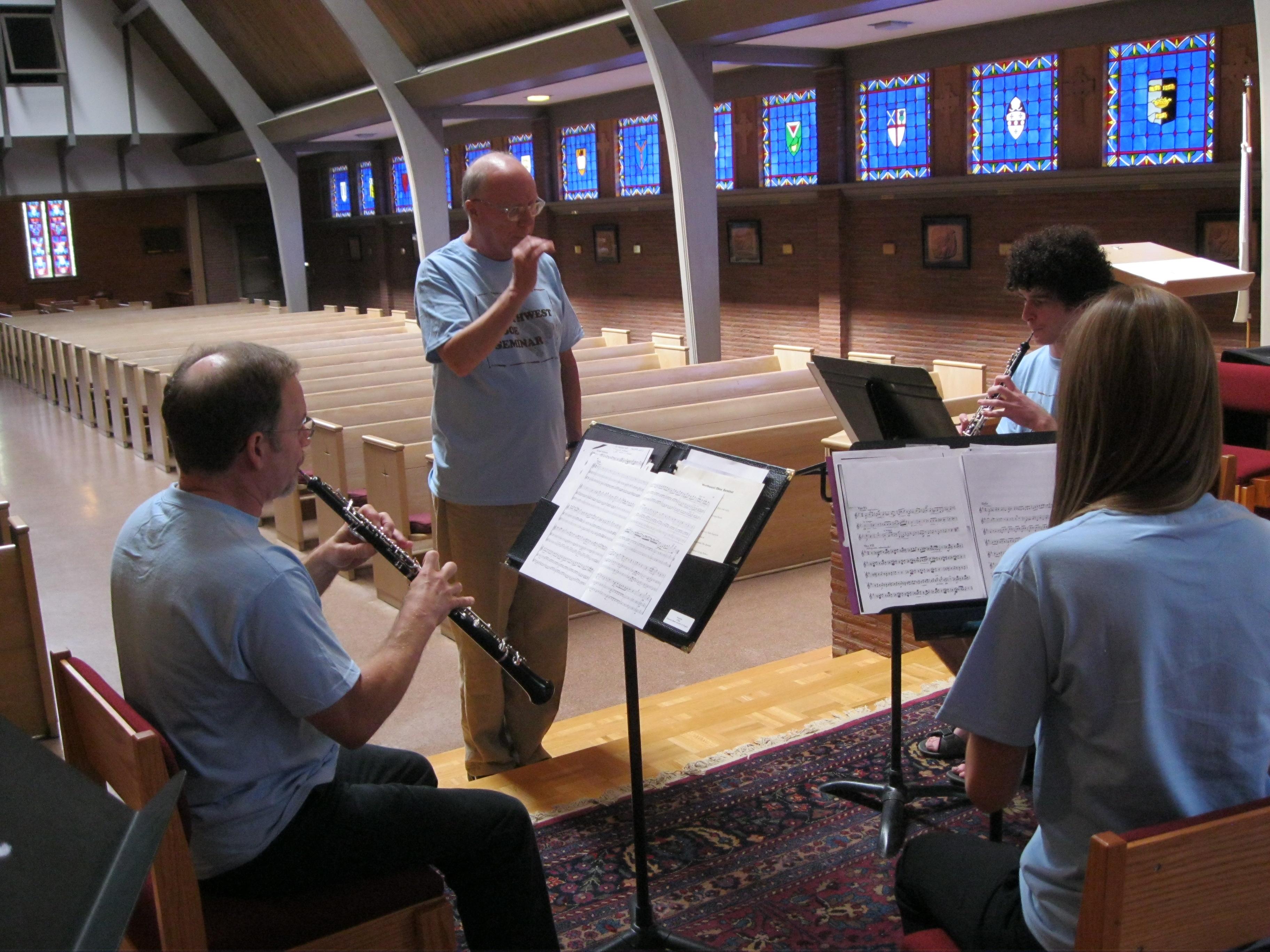 Northwest Oboe Seminar 2012 009