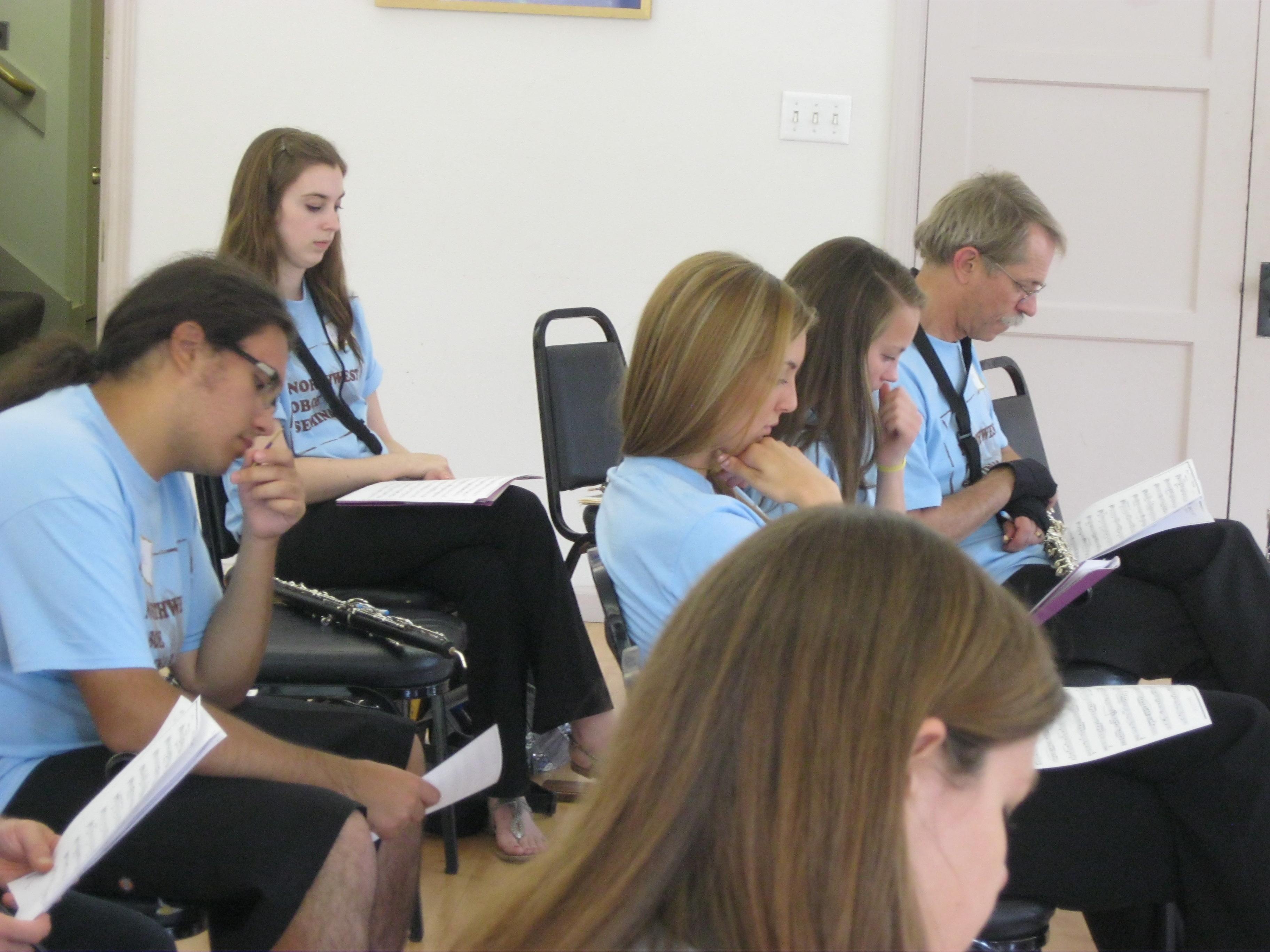 Northwest Oboe Seminar 2012 016
