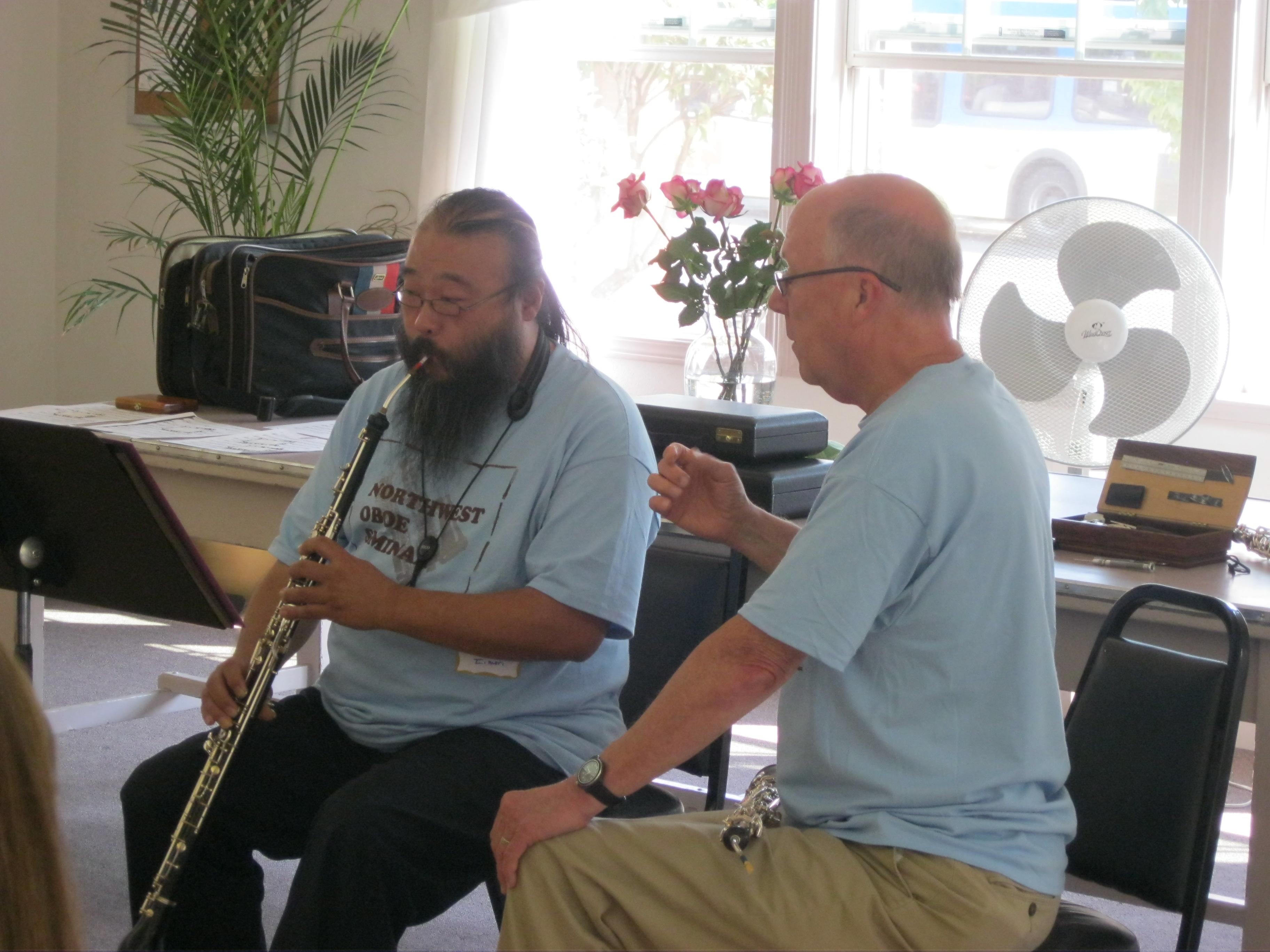 Northwest Oboe Seminar 2012 015