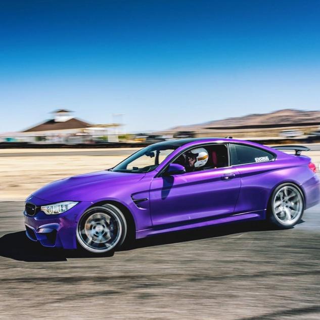 BMW M4 wrap