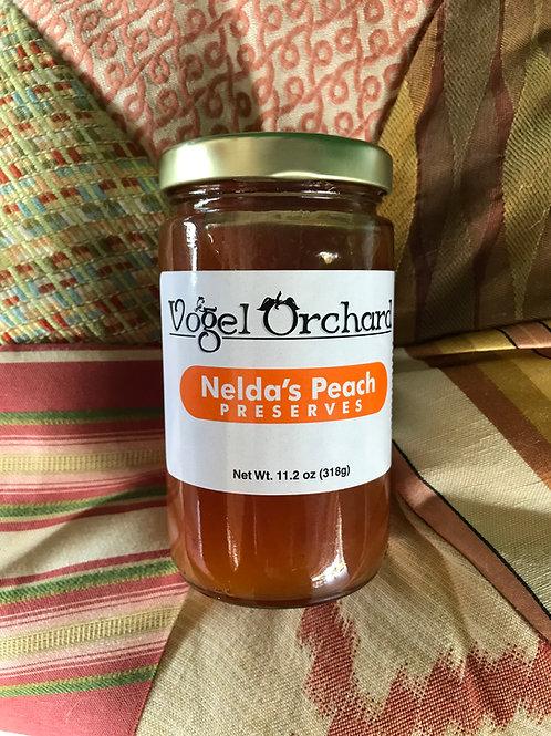 Nelda's Peach Preserves 11.2 oz