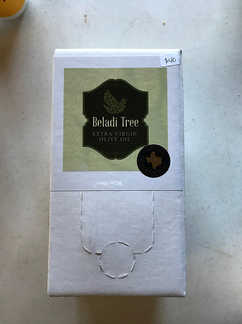 Beladi Tree Extra Virgin Olive Oil: 3 Liter