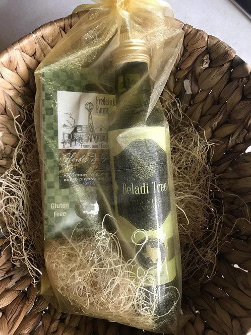 Olive Oil & Bread Dipper Set