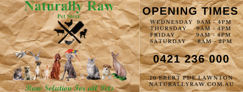 The Naturally Raw Pet Store