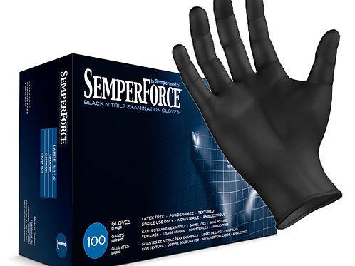 Black Nitrile Gloves-1 cs