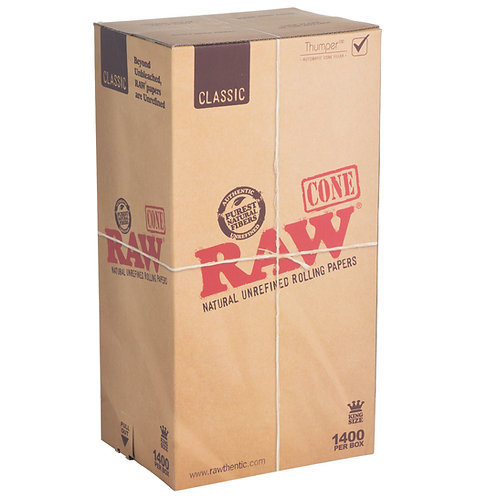 Raw Classic Pre Roll King Cones-1 box
