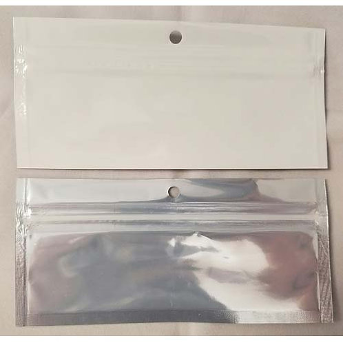 Cannabis Pre-Roll Joint Bags White/Clear-1 Box
