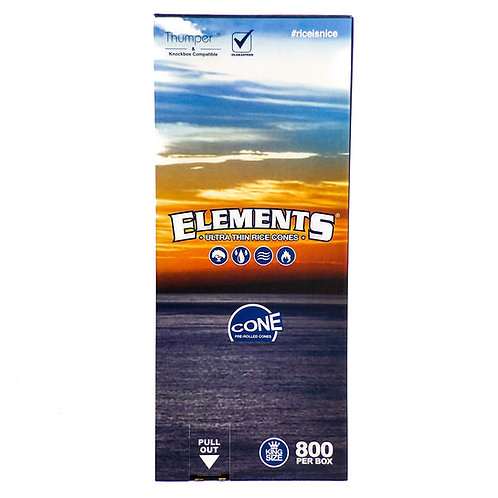Elements King Cones-1 box