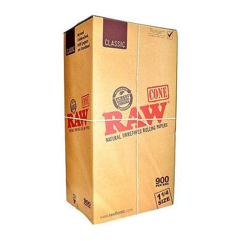 Raw Classic 1 1/4 Size Pre Roll Cones-1box
