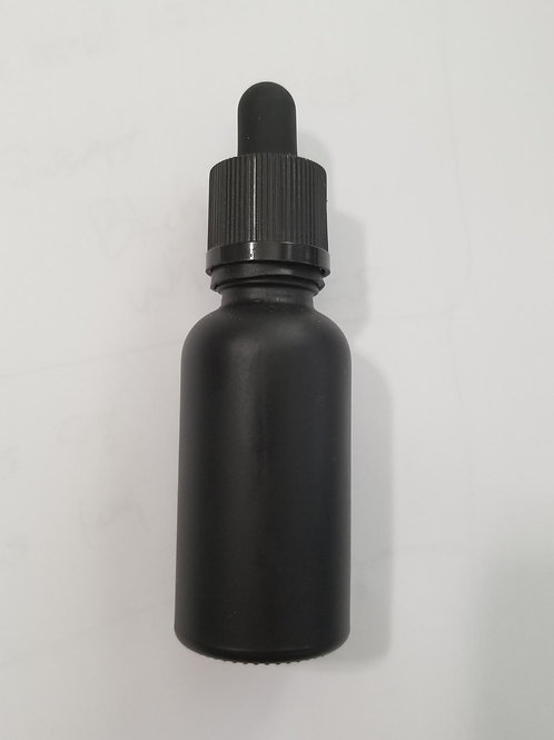 30ml Black Tincture with CR cap and dropper-Box
