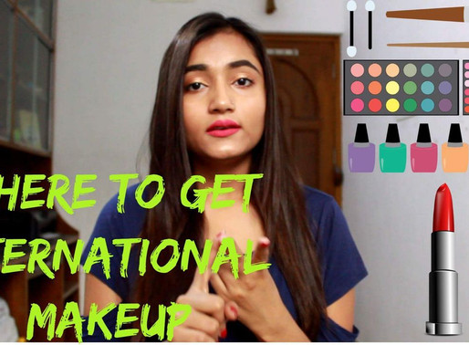 Where to get INTERNATIONAL MAKEUP | India