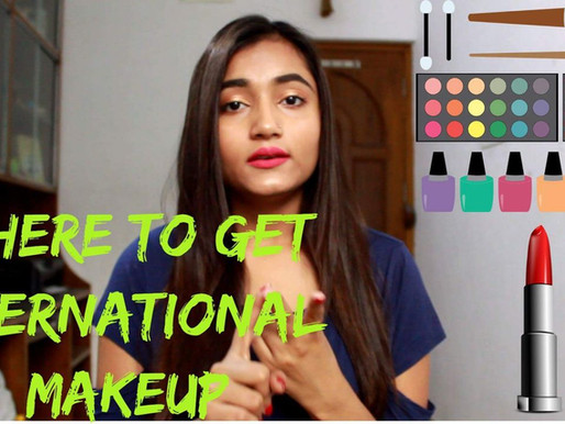 Where to get INTERNATIONAL MAKEUP | India