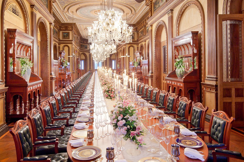 Taj Falaknuma, the palace hotel where Modi will be hosting a dinner for Ivanka Trump