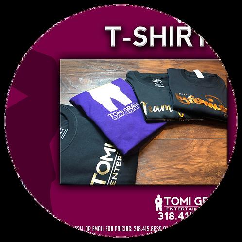 Vinyl Logo T-Shirts