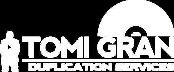 2018 Tomi Gran Duplication Logo (White).