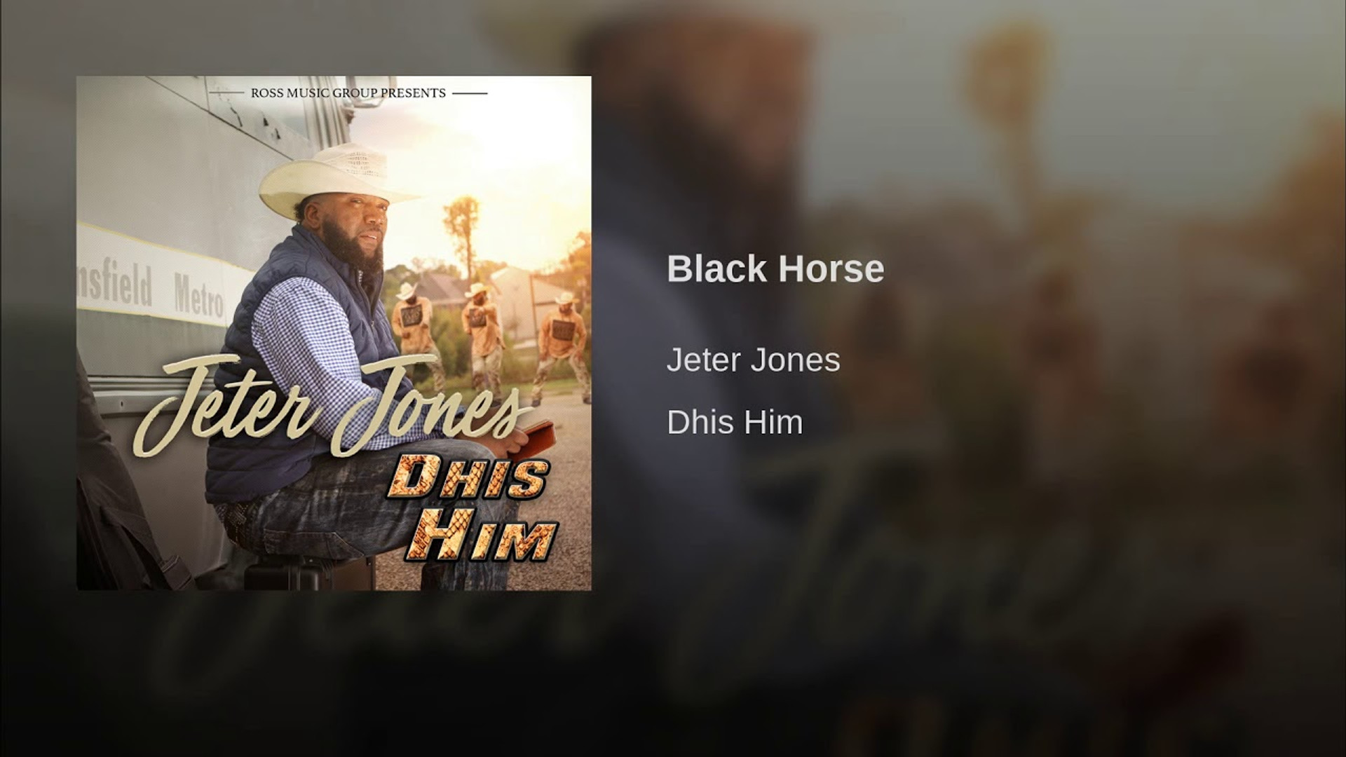 Jeter Jones - Black Horse (2018)