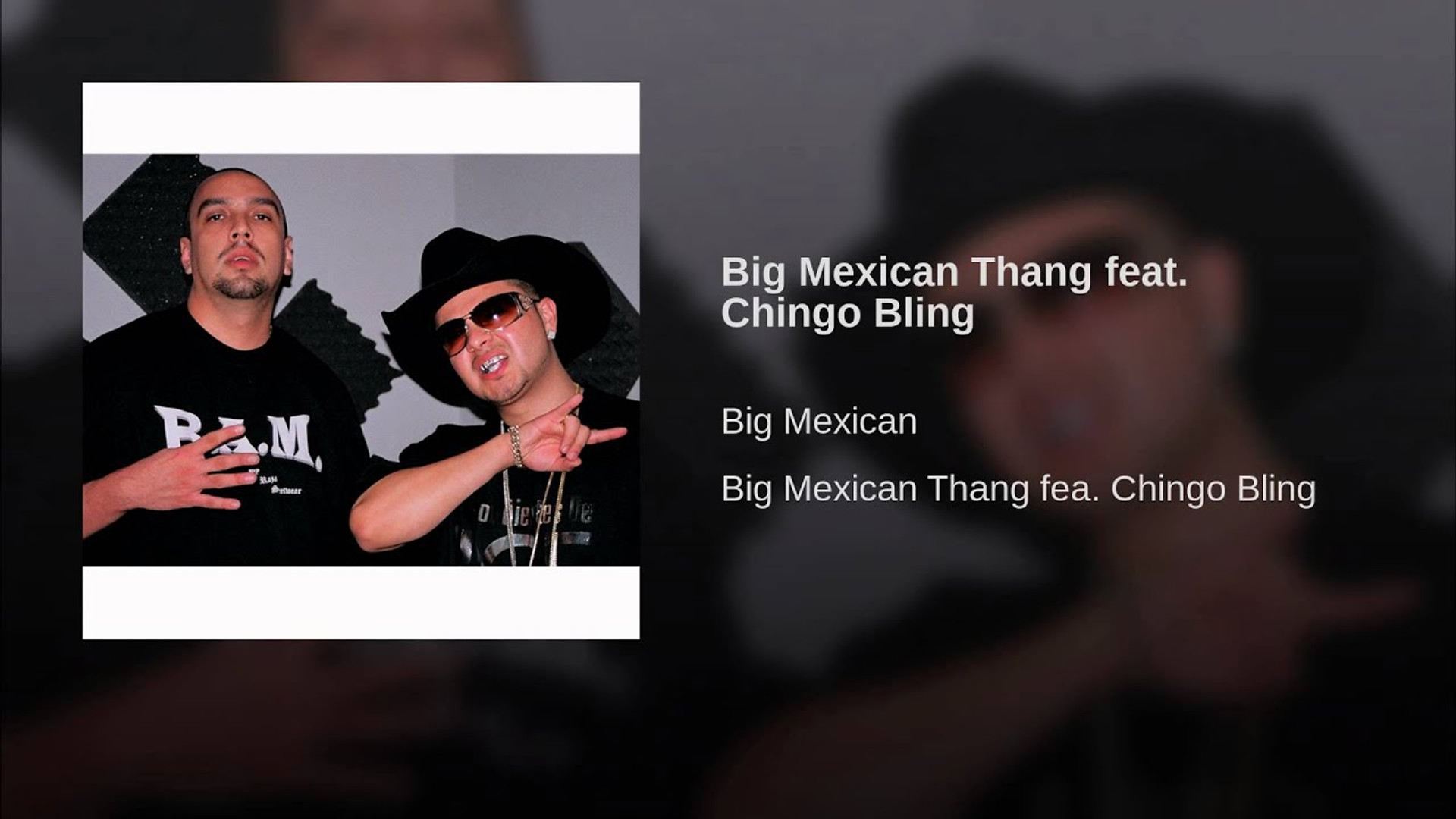 Big Mex (ft. Chingo Bling) - Big Mexican Thang (2015)