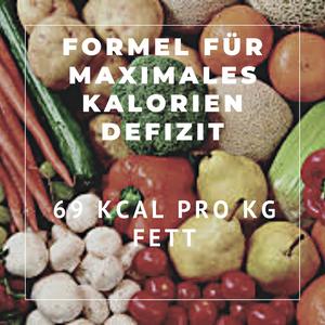 Maximales Kalorie-Defizit
