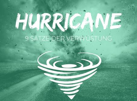 Hurricane Training - 9 SÄTZE DER VERWÜSTUNG