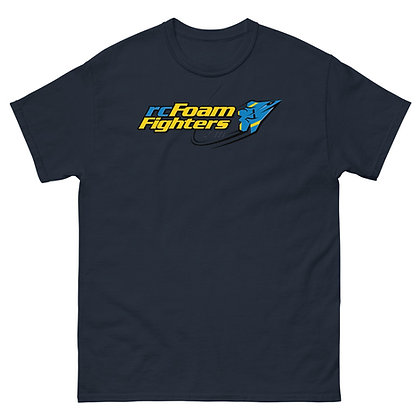 rcFoamFighters Logo - Men's heavyweight tee