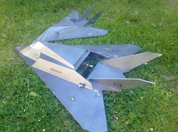 FF-117's by John English