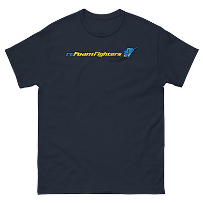rcFoamFighters Flat Logo - Men's heavyweight T-Shirt