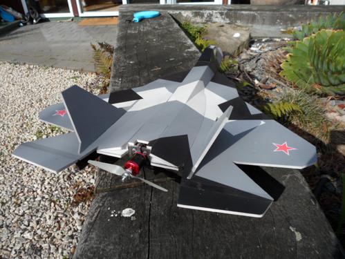 FF-T50 (PAK-FA) by Dan Holder