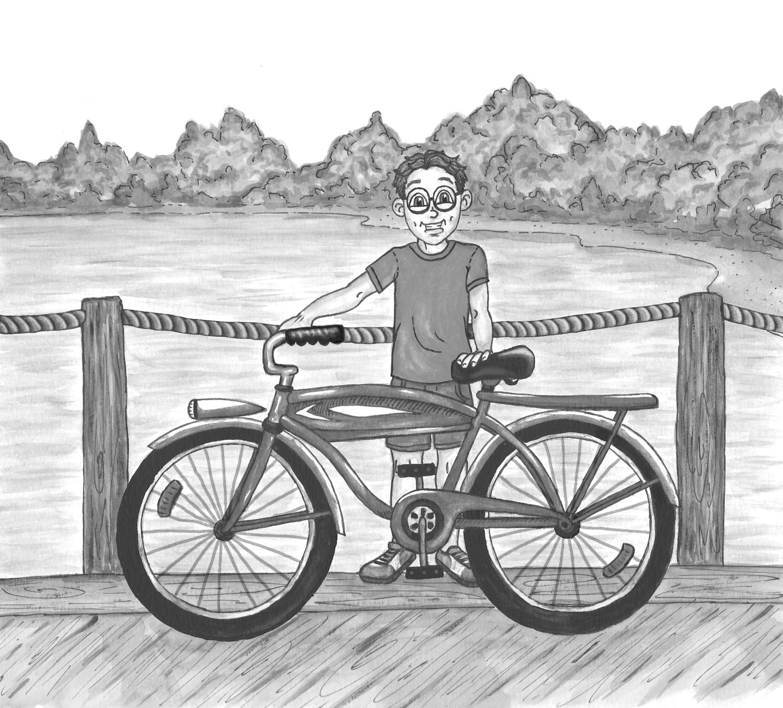 Illustration from The Big Ol' Bike