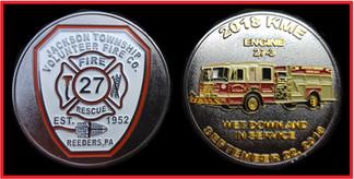 JACKSON TWP, PA VOLUNTEER FIRE COMPANY