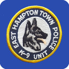 EAST HAMPTON TOWN, NY POLICE K-9