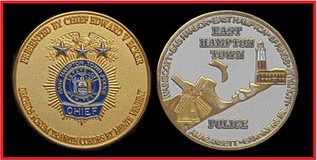 EAST HAMPTON TOWN POLICE, NY CHIEFS COIN