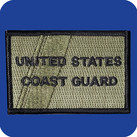 USCG Subdued Flag Patch