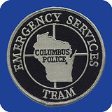 emergency services custom badges