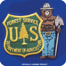 SMOKEY/USFS SHIELD PATCH