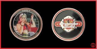 Firehouse Dolls - Abbey Coin