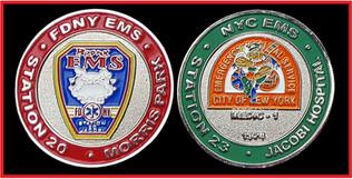 FDNY EMS STA 20 & STA 23 BRONX, NY